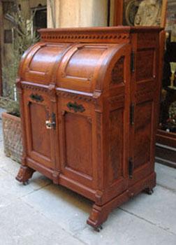 Antiquariato castellani antiquari in cortona dal 1919 arredi for Mobile schedario ufficio
